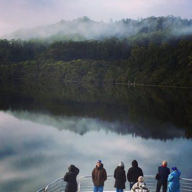 Reflection on Gordon River Tasmania