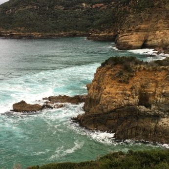 Tasmania rugged coastline