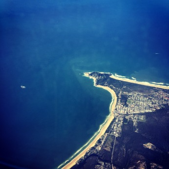 Byron Bay from the air