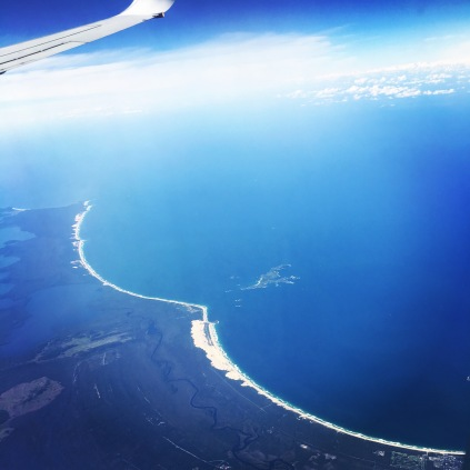 The coast from up high