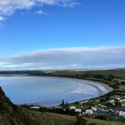 View over Stanley from The Nut