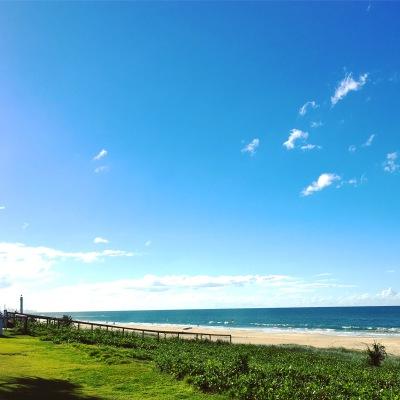 Tugun Beach at the Gold Coast