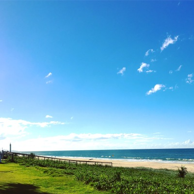 Tugun Beach at the Gold Coast