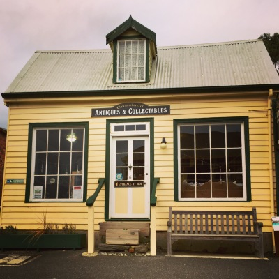 Antique shop in Stanley Tasmania