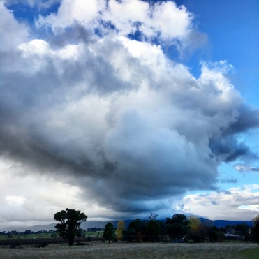 Interesting cloud formation over Tumbarumba