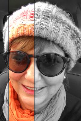 Self Portrait week in 52 week photo challenge