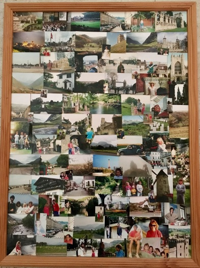 Travel collage pf photos