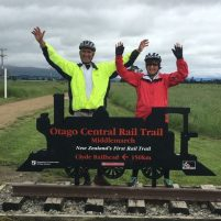 Finishing the Otago Rail Trail in New Zealand