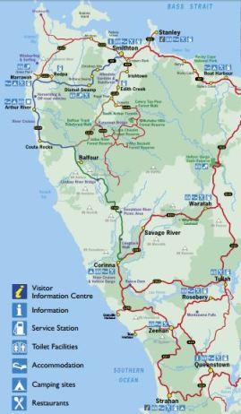 West Coast of Tasmania