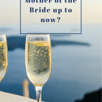Mother of the Bride update #4 - the final countdown
