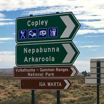 Heading off road to Iga Warta