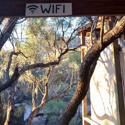 WiFi corner at Iga Warta
