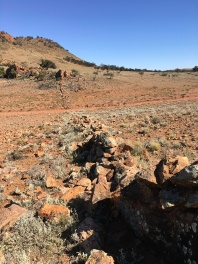 Stone wall in Flinders Ranges