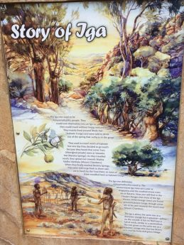 The story of Iga Warta in the Flinders Ranges South Australia