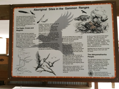 Story of the eagle, crow and magpie