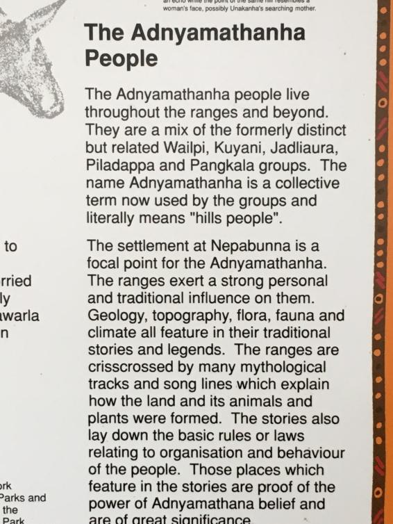 Iga Warta and Adnyamathanha