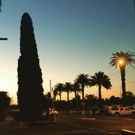Sunset in Mildura