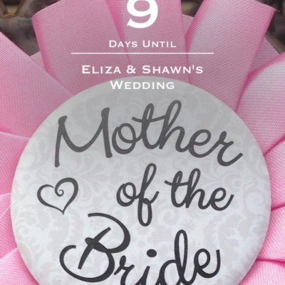 Wedding countdown for Mother of the Bride
