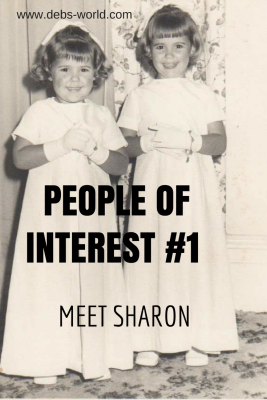 Meet Sharon my first guest poster for a new series on my blog, called People of Interest