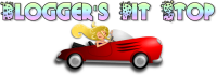 Blogger's Pit Stop Logo