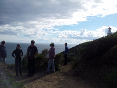 With family and friends Cape Schank