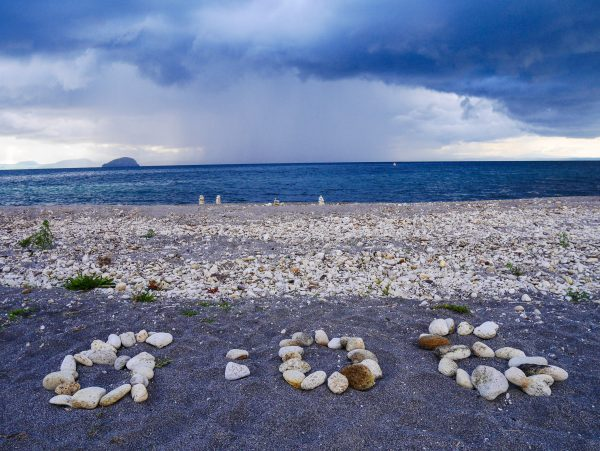 6:06 storm approaching over Lake Taupo
