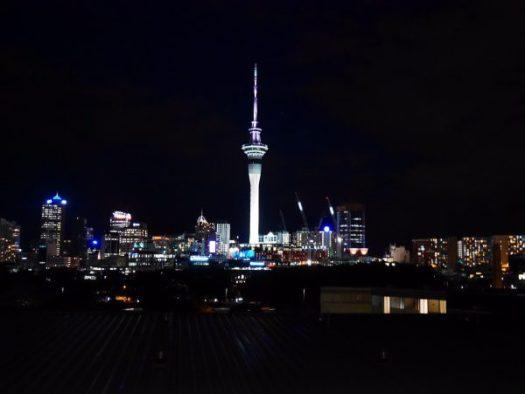 Night in Auckland