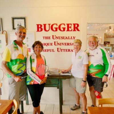 Bugger Cafe on the Hauraki Rail Trail