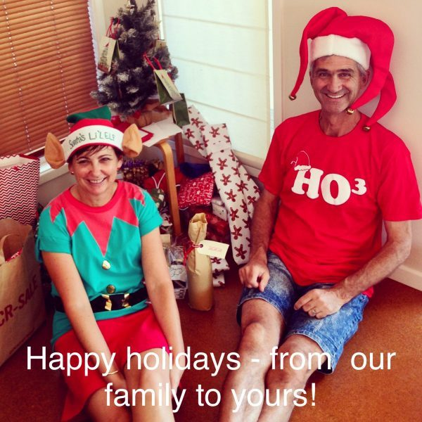Christmas greetings from our family to yours