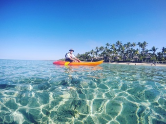 Fiji's clear waters