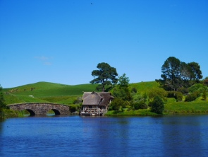 A beautiful day in Hobbiton