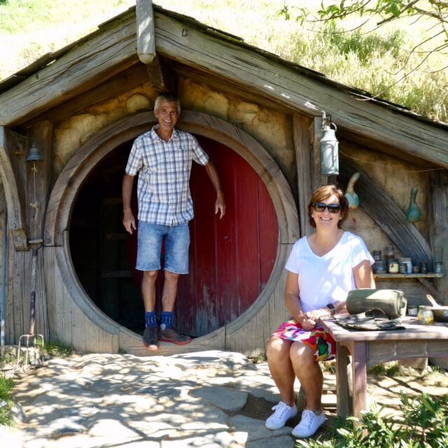 Our retirement home at Hobbiton New Zealand