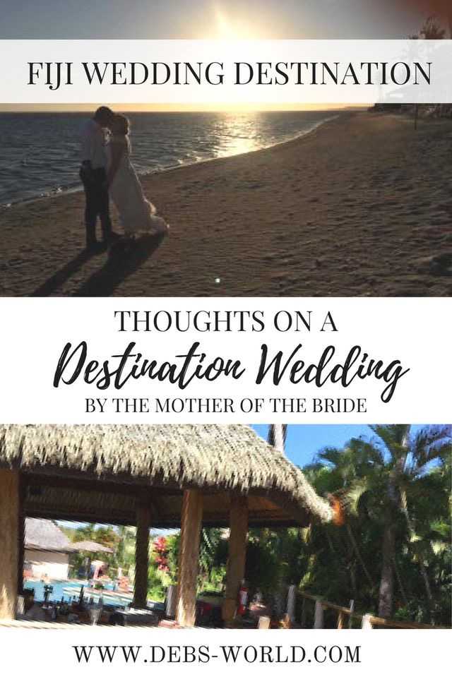 A destination wedding in Fiji