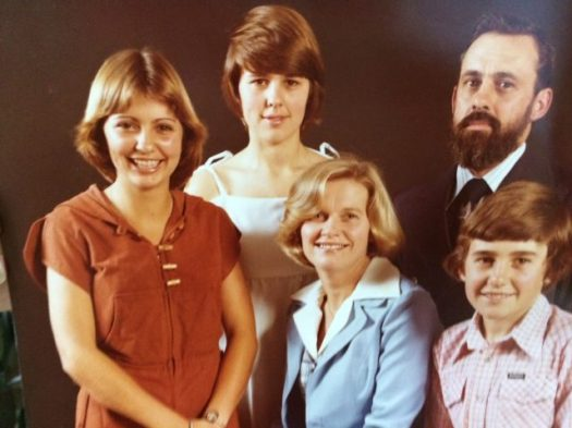 Family portrait from 1977