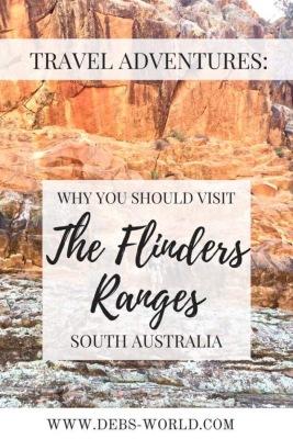 The Flinders ranges in South Australia