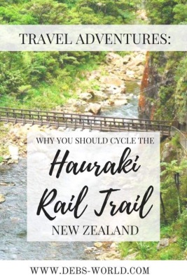 Cycling on the Hauraki Rail Trail, a travel blogger's visit to New Zealand's North Island