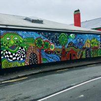 Street Art/Mural in Kawakawa New Zealand