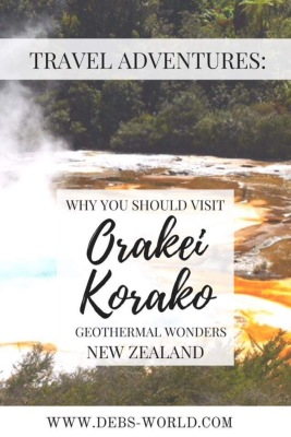 Orakei Korako - a geothermal wonderland in New Zealand