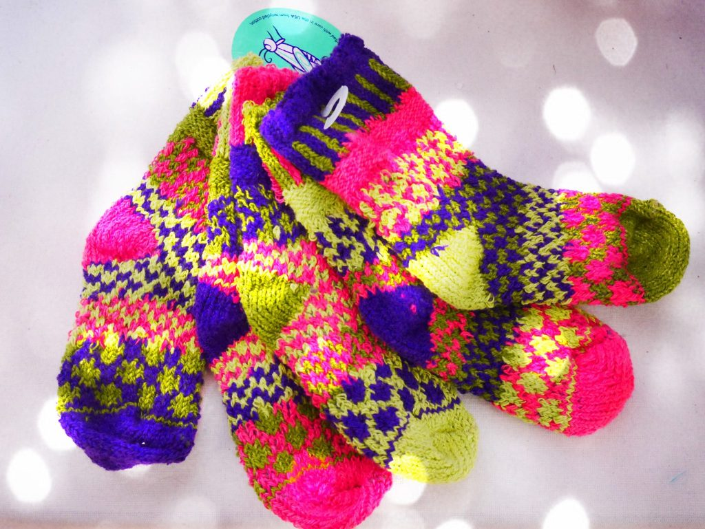 A last minute gift for that hard to buy for five footed child - socks!