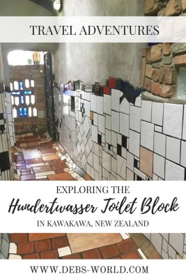 Hundertwasser toilets are a must see in New Zealand