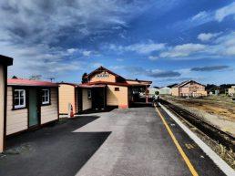 Waihi Train Station in New Zealand
