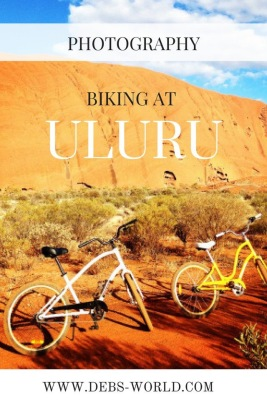Cycling at Uluru