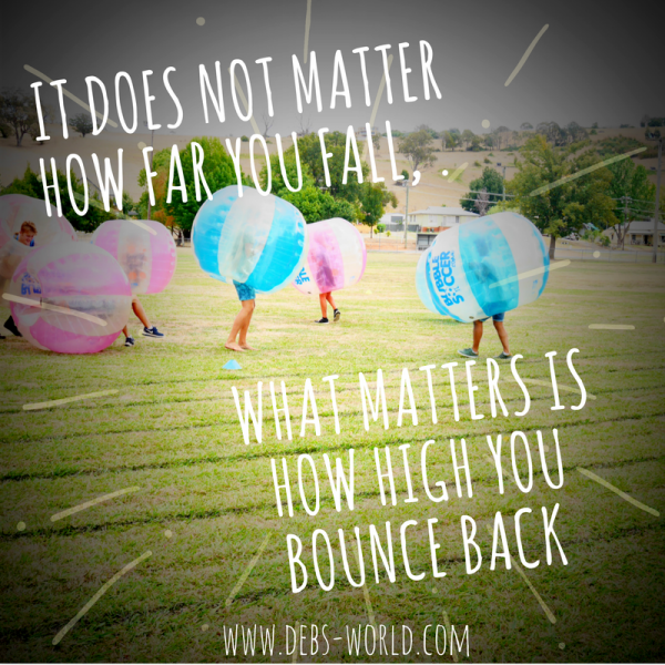 Just keep bouncing back - bubble soccer at Tumbafest in Tumbarumba