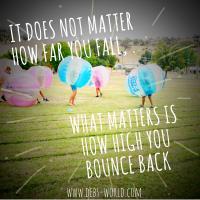 #5 ways to keep bouncing along