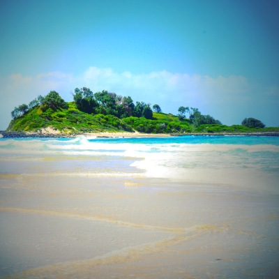 A deserted island?