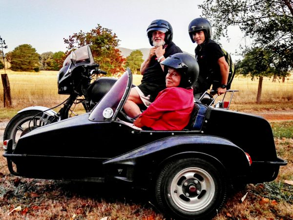 A sidecar is also known as a chair!