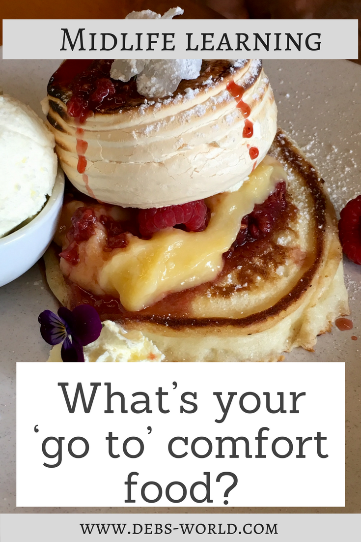 What's your 'go to' comfort food?