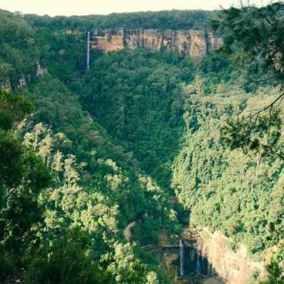 The tale of two waterfalls at Fitzroy Falls