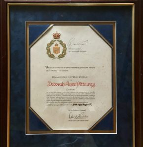 Bravery Award