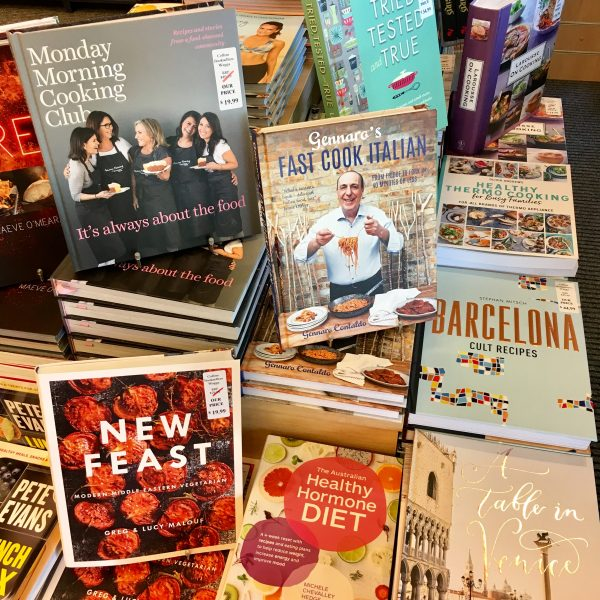 A great display of food literature